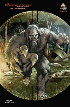 Monster Hunters Survival Guide Case File: Sasquatch - E