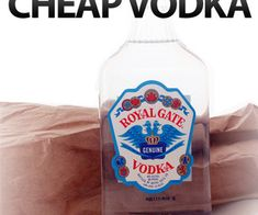 15 Unusual Uses for Cheap Vodka, @Gabrielle Webb we need to invest in some vodka