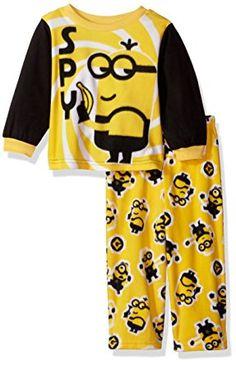 470da768356f Despicable Me Toddler Boys  Minions 2-Piece Fleece Pajama Set Fleece Pajamas