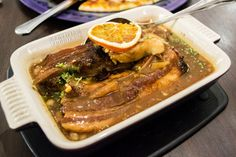 Orange Pork Spareribs at Cafe 1771