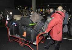 Only half the boys luggage