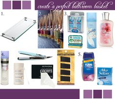 What to Put in a Guest BathroomBasket - Blog - Indianapolis Wedding Planners   Wedding Coordinators   Wedding Consultants   April Foster Events