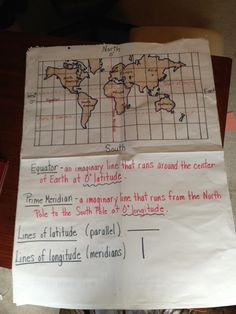 Map Skills- latitude and longitude