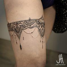 Ces 20 tatouages dentelle charmants vont vous donner des idées !