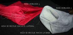 Con esta entrada doy por finalizada la saga del bolso Escarlata, ahora ya podéis elegir entre varias bases distintas.Para un bolso básico, con un sólo patrón podemos tener muchas bases distintas.Una b