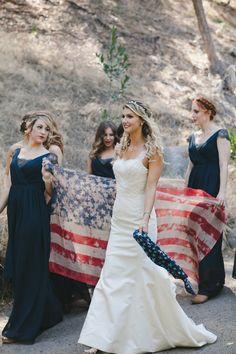 Amazing 4th of July Wedding | Sarah Shreves Photography | Orange Blossom Special Events | Bridal Musings Wedding Blog