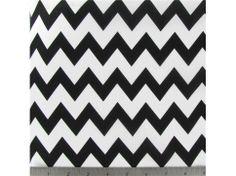 Chevron Print Material   ... Fabrics & Prints   Apparel Prints   APT2-35 Black & White Chevron