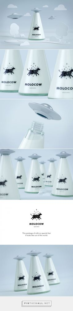 Molocow ‪‎UFO‬ ‪Milk‬ ‪‎Concept‬ ‪#‎packaging‬ designed by Imedia Creative Bureau (‪Kyrgyzstan‬) - http://www.packagingoftheworld.com/2016/03/molocow-concept-milk-package-concept.html