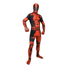 Förvandla dig till antihjälten Deadpool med denna coola dräkt och gör dig redo för en actionfylld kväll!<br /><br...