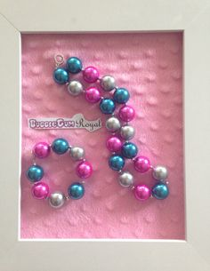 Our classic bubblegum bead necklace in teal, pink and silver for is just $15 including shipping (untracked) anywhere in Australia. Add a matching bracelet for $5 with any necklace purchase. More designs available at www.bubblegumroyal.com