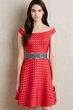 Minette Dress #anthropologie <3<3<3<3<3 in red or black <3<3<3<3<3