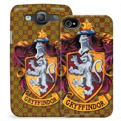 Gryffindor Crest Phone Case for iPhone and Galaxy