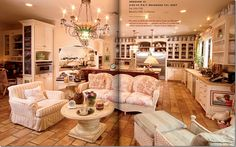 Have been looking all over for this just to see what it looked like .... The Osbournes family room & kitchen.