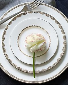 Add delicate touches to a decadent meal with Vera Wang dinnerware