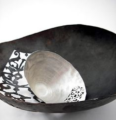 Pierced Silver Bowls -beautiful decor pieces by Miranda Meilleur