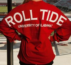 Roll Tide Spirit Jersey in Crimson