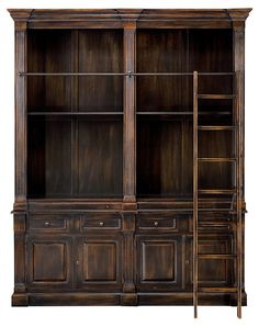 One Kings Lane - Sarreid - Leigh Oak Bookcase