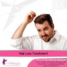 Say goodbye to #thinninghair line and male pattern #baldness permanently with the advanced #HairLoss Treatment from theNewyou.
