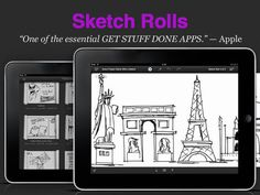 iPad App Sketch Rolls | Productivity | Lifestyle |  | 4  | $1.99 NOW FREE | * Top productivity app in many countries* New