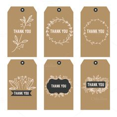 Thank You Printable Tags . 30 Thank You Printable Tags . Kate Thank You Tags Template Diy Floral Thank You Tag Kate Thank You Tag Printable, Thank You Labels, Free Printable Gift Tags, Thank You Tags, Printable Labels, Tag Templates, Templates Printable Free, Free Printables, Wedding Favor Tags