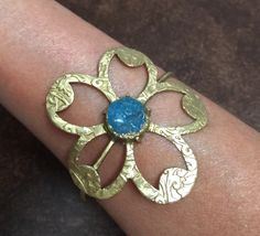 A personal favorite from my Etsy shop https://www.etsy.com/listing/475978387/lotus-flower-cut-out-designer-druzy