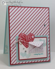 I used the Stampin' Up! Sealed with Love stamp set bundle from the upcoming 2017 Occasions Catalog to create my card to share today. My card design was inspired by Freshly Made Sketches #266.…