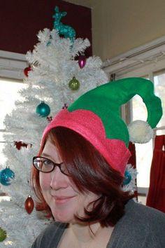 como hacer un gorro de elfo de santa