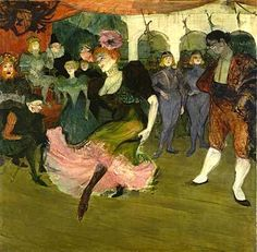 Marcelle Lender Dancing the Bolero - Henri de Toulouse Lautrec. How could any of his work not inspire you!