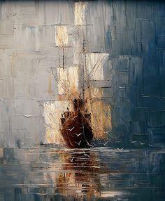 Oil paintings by Justyna Kopania