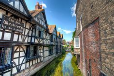 The Weavers on the River Ouse, Canterbury, Kent England