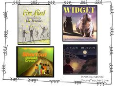 Mentor texts for problem-solution stories which are great for writing summaries