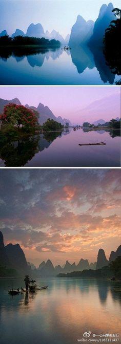 The Lijiang River