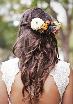 flowers in my hair when we get married?