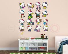 Hello Kitty set - sticker imprimat