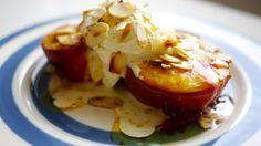 Honey Roast Peaches - The Londoner
