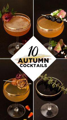 Thanksgiving Cocktails, Winter Cocktails, Craft Cocktails, Party Drinks, Fun Drinks, Yummy Drinks, Alcoholic Drinks, Beverages, Cocktail Sauce