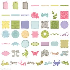 Anna Griffin Elegant Embellishments - View All - Cartridges & Images