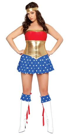 Wonder woman | Plus Size Wonderwoman | Pinterest | Women's and ...