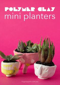 https://mypoppet.com.au/makes/polymer-clay-mini-planters/