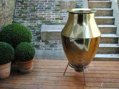 Gallery – Vessou HUGE gold plant pot!! Would love some feedback?