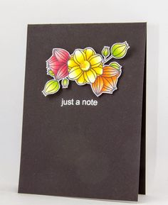 Creative Inspirations: Jane's Doodles - Just a note