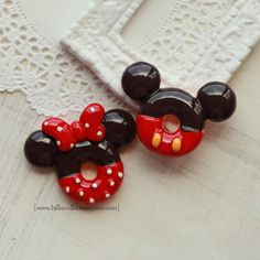 Mickey and Minnie Cabachon
