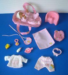 BABY born miniworld - 1 Püppchen mini (11cm) mit Tragetasche und Zubehör