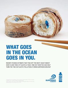 What goes in the ocean, goes in you. | #Pollution #Green #Eco #EMA