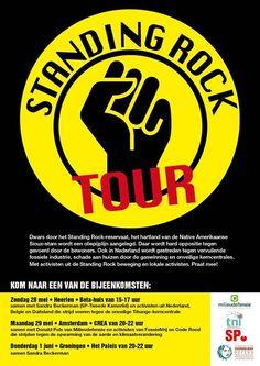Standing Rock Tour en de Tihange-kerncentrale