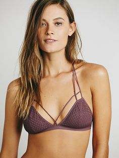 Intimately Fish in the Sea Strappy Bra at Free People Clothing Boutique