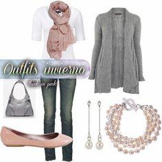 ♥ тнιик ιи ριик ♥: Outfits casuales de invierno