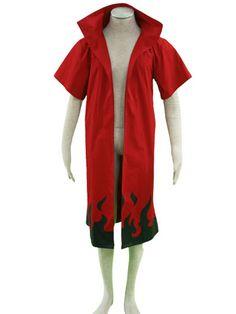 Naruto Main Theme 65 Cotton 35 Polyester Cloak Cosplay Costume