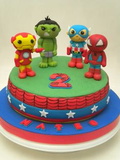 Torta Super Heroes | Flickr: Intercambio de fotos