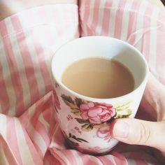 But first, coffee. #F21xMe #Pajamas #Stripes
